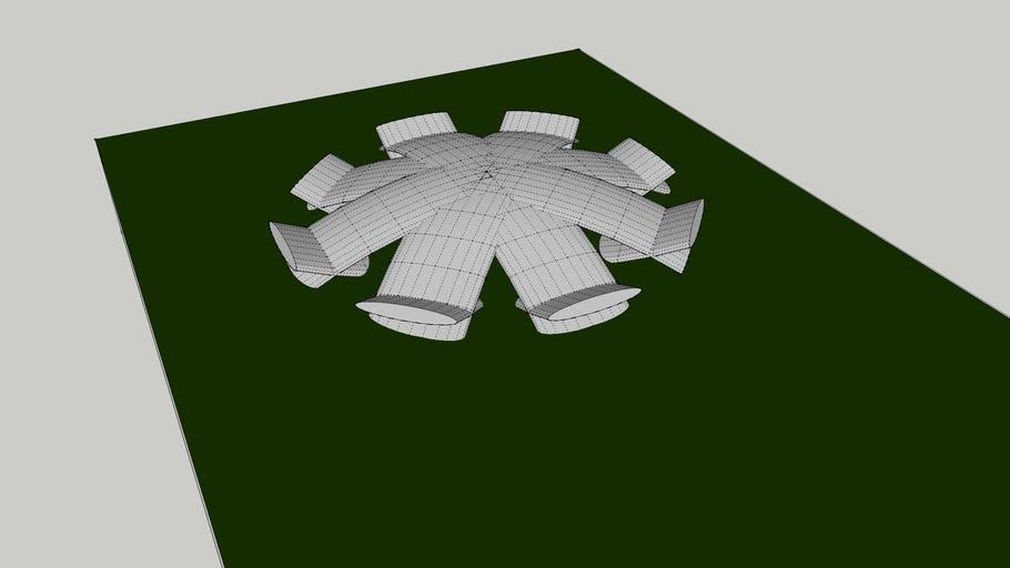 Cool stadium / pavilion design