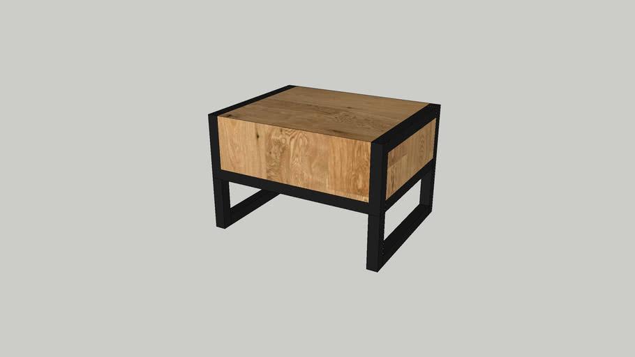 Stolik nocny Loft bedside table