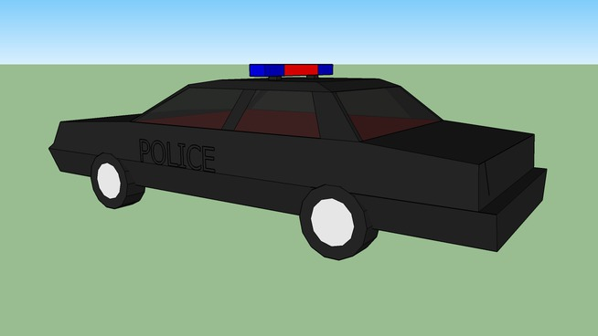 voiture police   3D Warehouse 325cafab90