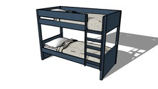 Furniture - double bunk