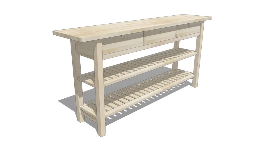 Ikea Norden Occasional Table 3d Warehouse