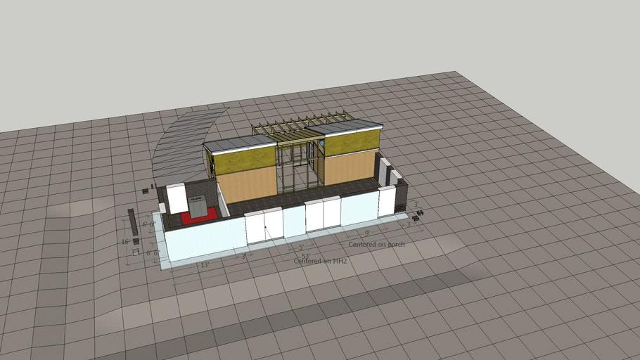 MicroHouse 4 Outside Concept