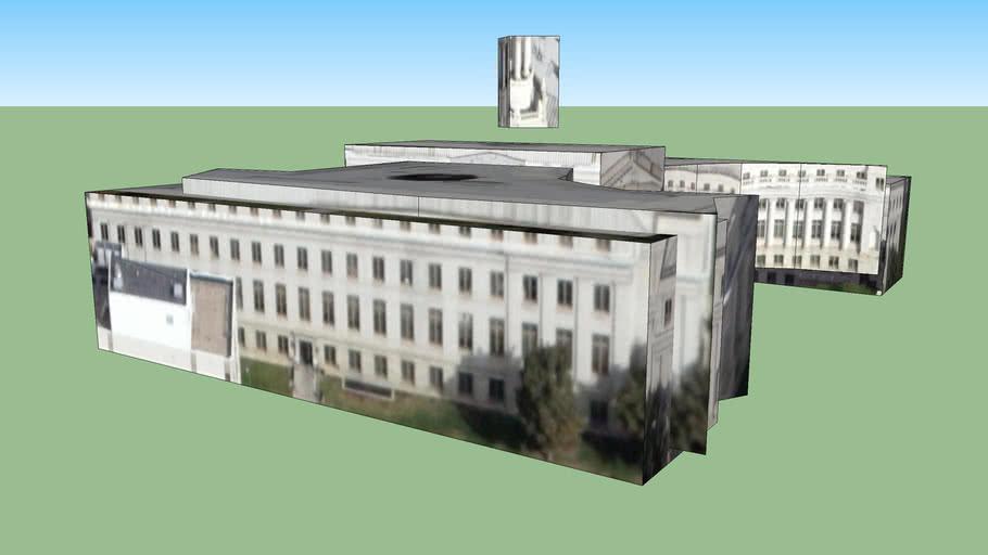 Building in Denver, CO, USA - capitol building