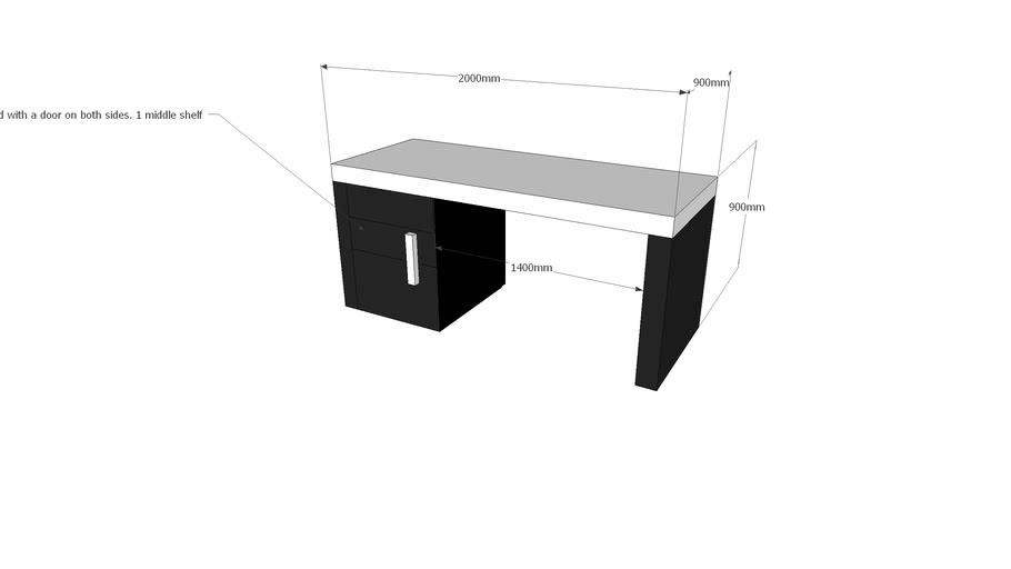 O-Show Case Cabinet