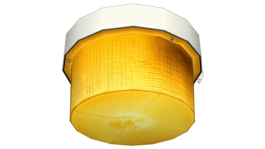 Holophane Ceiling Light