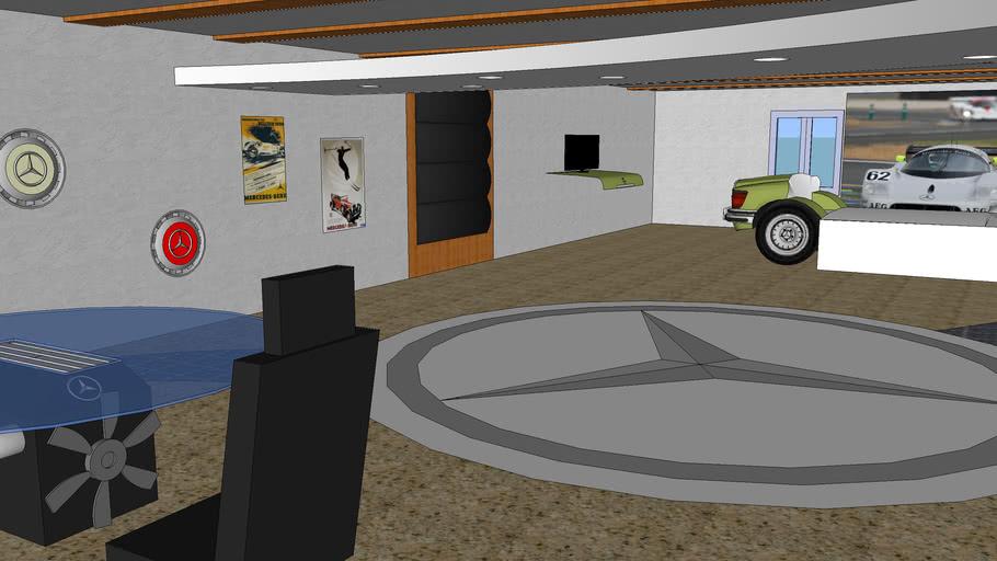 Concept Bedroom- Mercedes-Benz Classic Theme