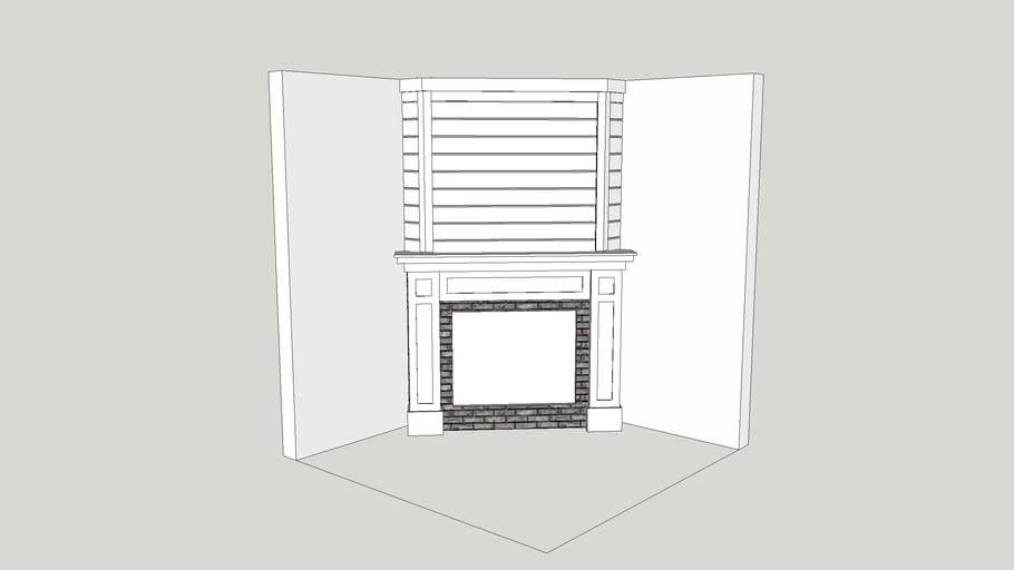 """""""C"""" Fireplace"""