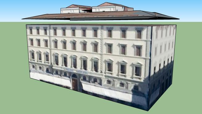 Zgradba v Firence, Italija
