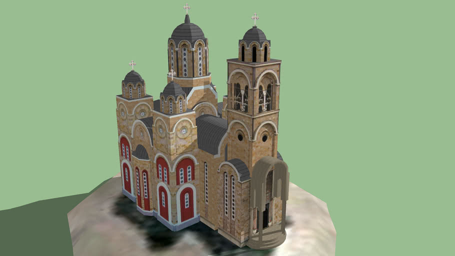 The Cathedral of Saint Sava, Aerodrom, Kragujevac