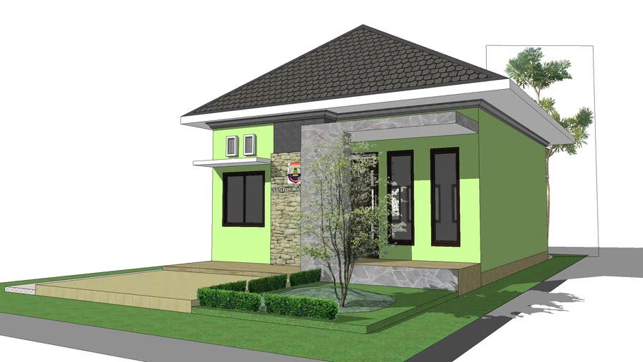 Kantor Dinas Kampung di distrik Mansel by Adi Kuling