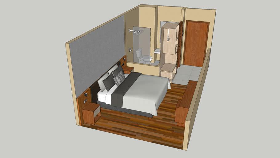 Interior Kamar Gaya Swiss-Belinn Luwuk