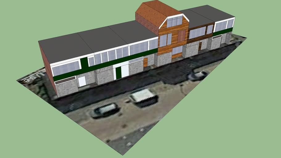 Jan de Rooijstraat Blok 1