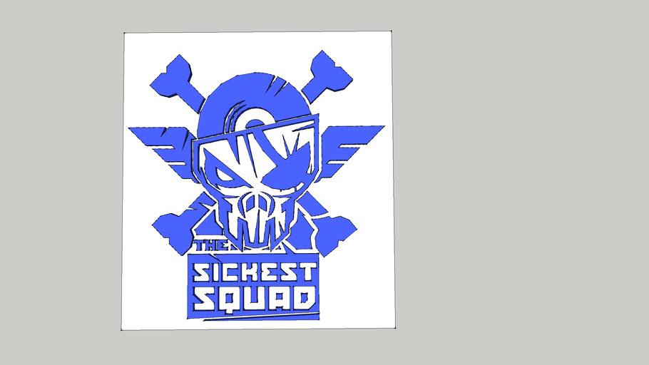 Logo Sickest Squad con fondo