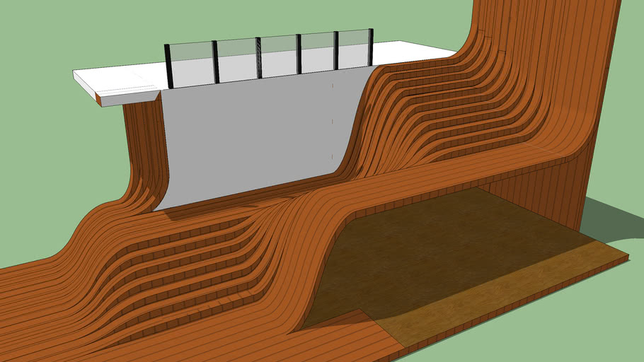 Stair Concept. (Longchamp stairs)