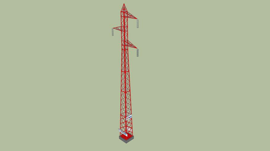 Torre eléctrica, Transmission electric