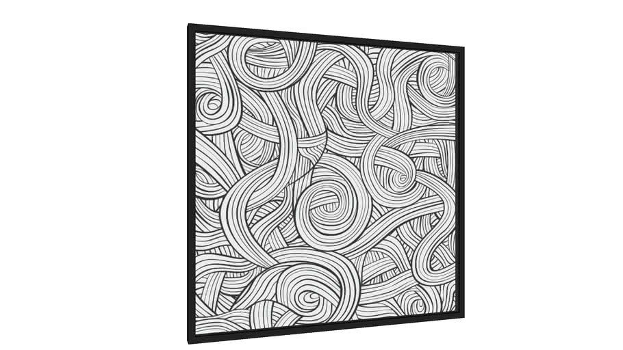 Quadro Linhas em Linha - Galeria9, por Renato Kolberg