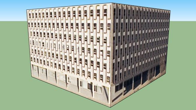 此建築物位於 孟菲斯市, 田納西州, 美國