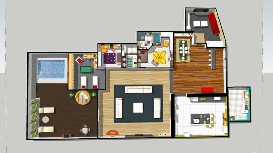 casa  ( NOW LINK  3D MODEL ! )
