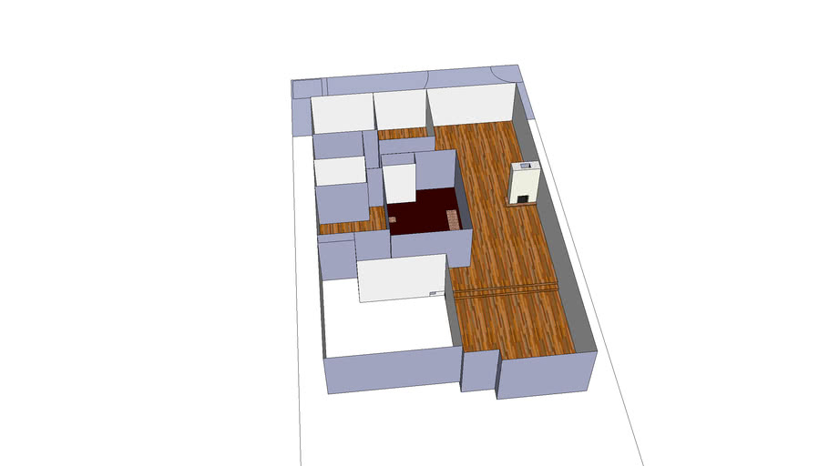 First Floor Addition -- Jeff's Sketches (Scale)