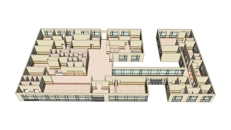 3d Plan Clinic Architectural Design 4 Sadegh 3d Warehouse