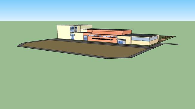 Sporthal en zwembad KLO