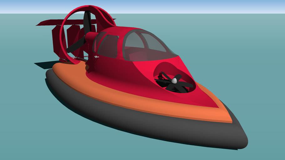 Solocraft 2800R Sport 28 Foot Hovercraft