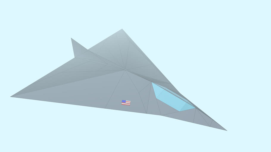 Stealth Aircraft Prototype