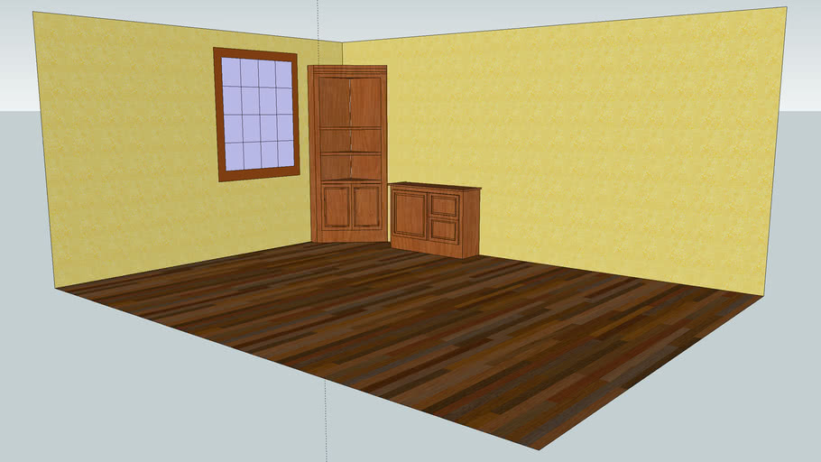 oak corner cabinet and file cabinet