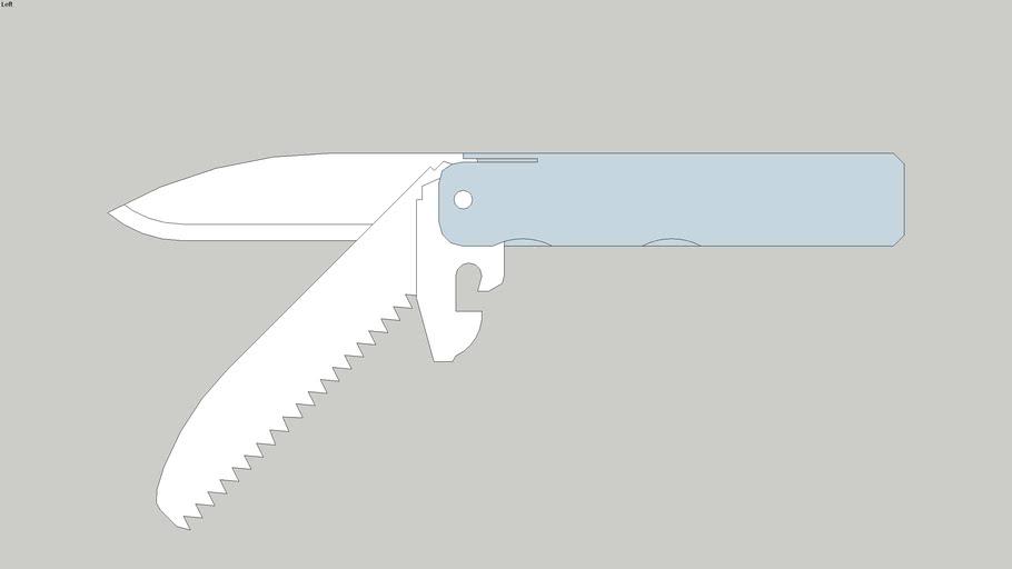 7. PocketKnife DIY | складной самодельный нож