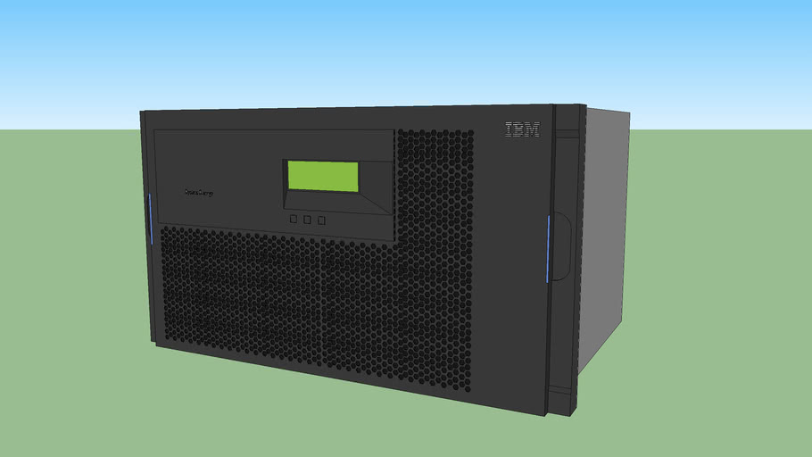 IBM® N7600 (2866–A10) tape drive