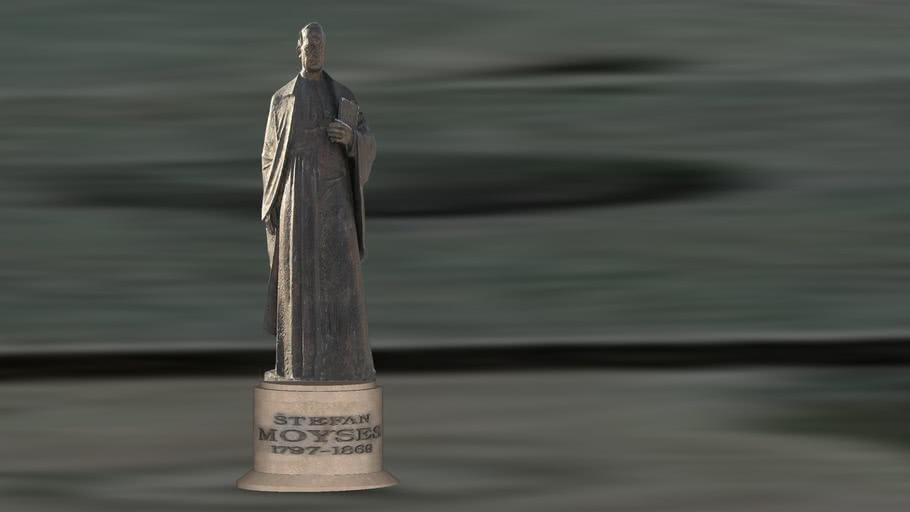 Štefan Moyzes 1797-1869 socha v Žiari nad Hronom