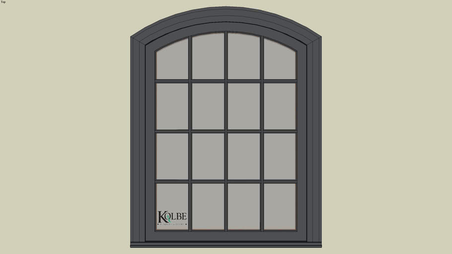 """Kolbe Ultra Segment Head Studio KUN246P-SEG (F.S. 3'-4"""" x 4'-6"""" R.O. 3'-4 1/2"""" x 4'-6 1/2"""")"""