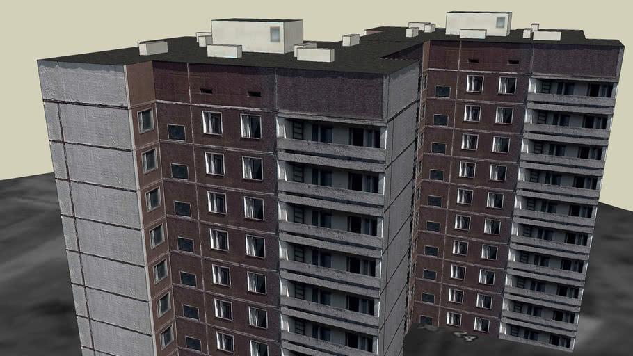 Sportivnaya Street, 17 building (Pripyat)