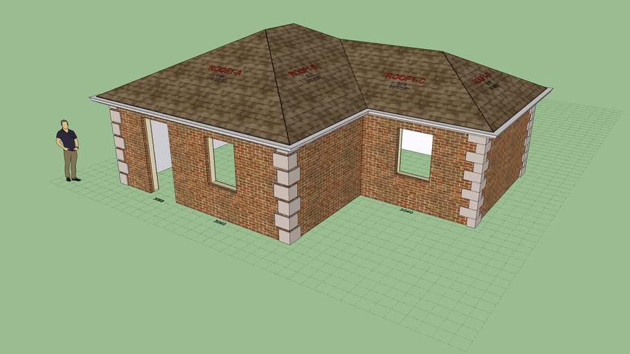 Brick with Quoins