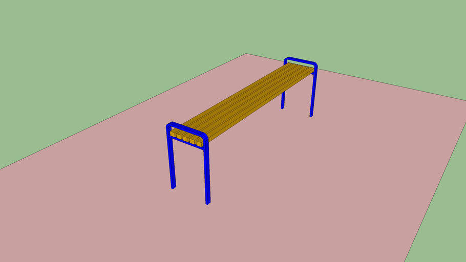 Скамейка Модерн Modern Bench