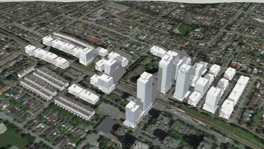 2015 Joyce Precinct rezoning review Option 3 in Vancouver BC