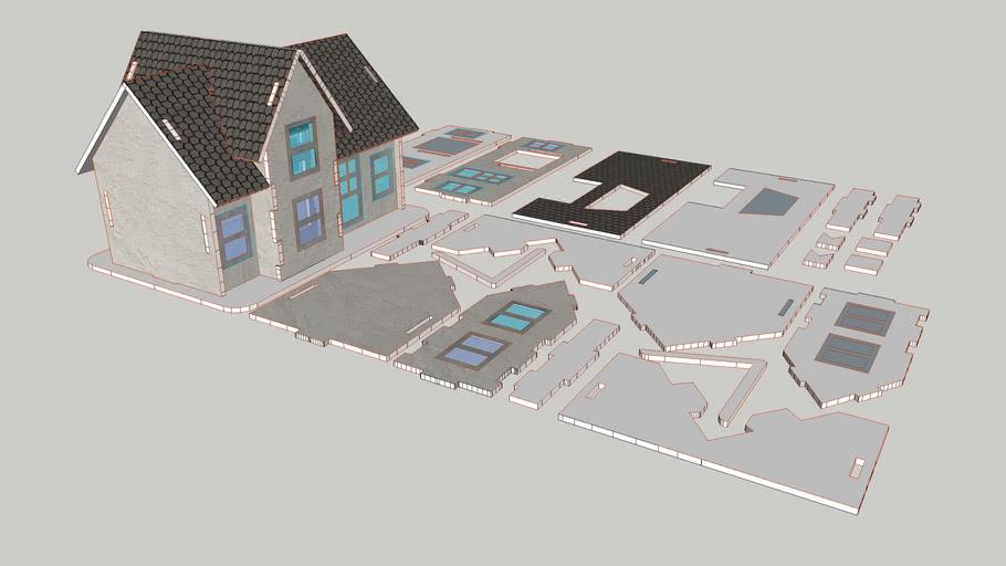 Casa 3D puzzle