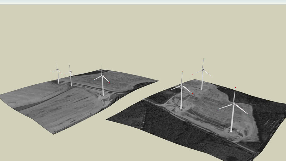 Větrné elektrárny - Anenská studánka