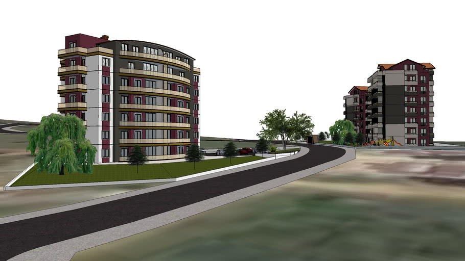 2 appartment building project