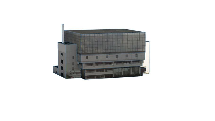 Construção em Sapporo, Hokkaido Prefecture, Japan