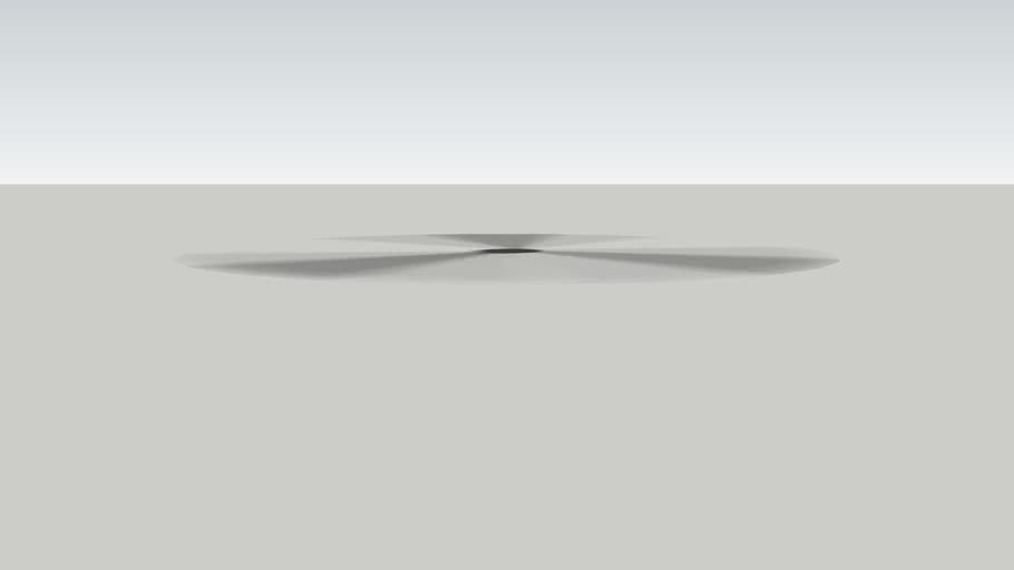 转动的螺旋桨