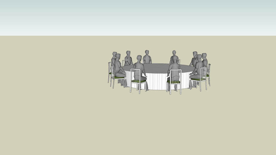 60`Round Table