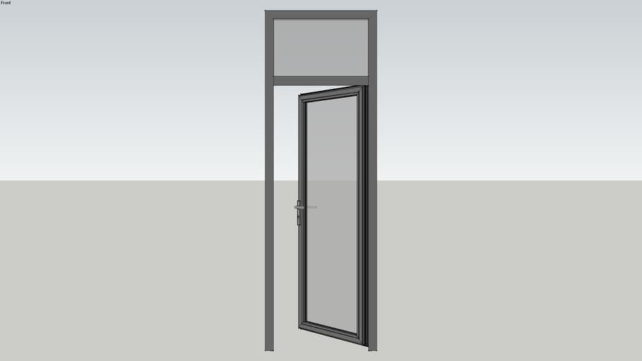 Xingfa Aluminum door ( cửa đi XIngfa 01 cánh mở quay)
