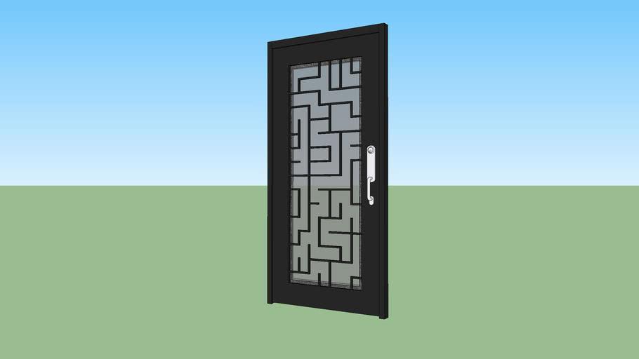 Puerta Herreria 90x200