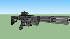View Sci Fi Minigun  Wallpapers