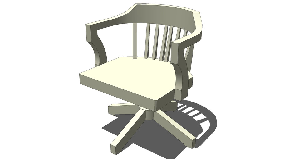 Chair_Office_Wood