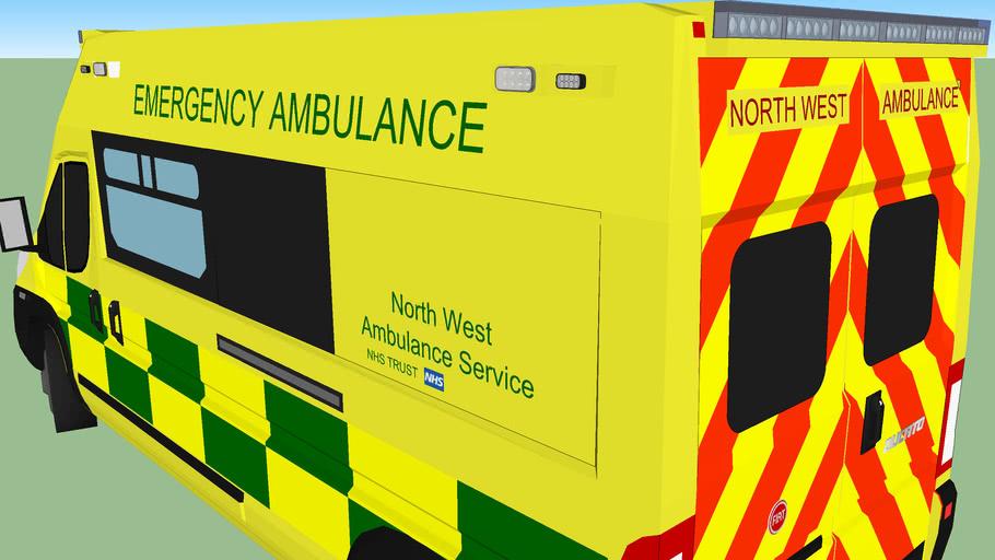 Noth West Fiat Ducato Ambulance