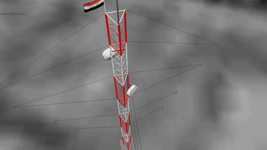 برج اتصالات في ناحية الحمّار