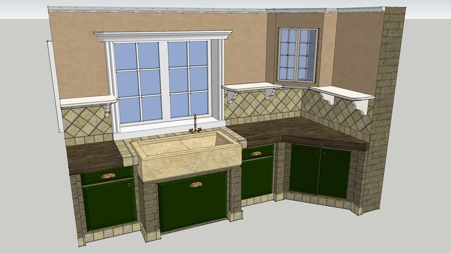 SPIEGEL rustic kitchen sink