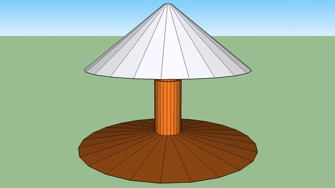 Nachttischlampe -- Made by SketchUpBoys